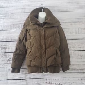 2/20$😜OLD Navy Puffer Jacket Down Green Size Med